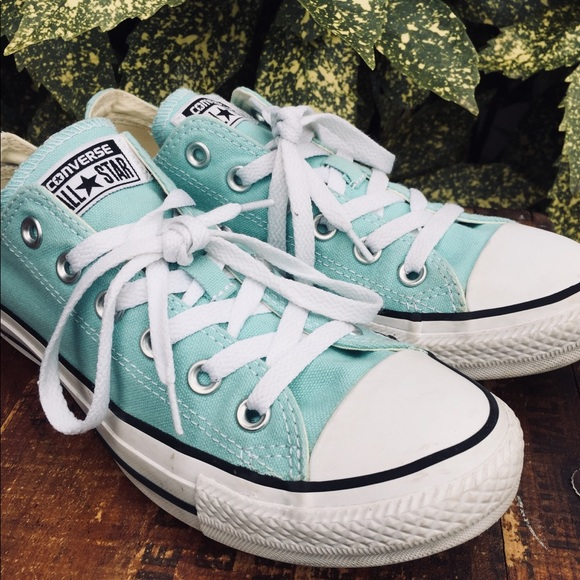 Converse Shoes - Converse canvas shoes Aruba blue 130118F women 8 876337526